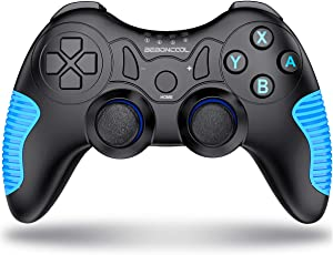 Controller für Nintendo Switch, BEBONCOOL Wireless Switch Controller 6-Achsen Somatosensory mit Motor Gamepad für Nintendo Switch (2018 Upgraded Version)
