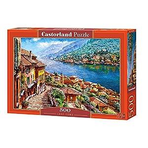 Castorland Lake como 500 pcs Puzzle - Rompecabezas (Puzzle Rompecabezas, Paisaje, Niños y Adultos, Niño/niña, 9 año(s), Interior)