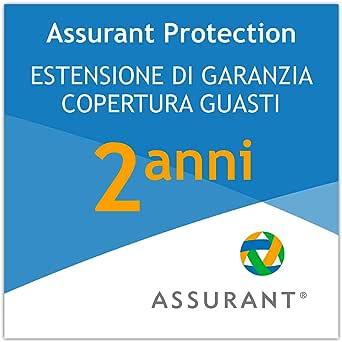 2 anni garanzia estesa per un dispositivo di attrezzatura per l'ufficio da 10 EUR a 19,99 EUR