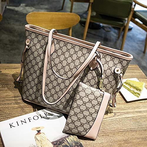 LFGCL Bags womenPrinted Bag Umhängetasche mit großem Fassungsvermögen urban Casual Handbag, Pink