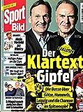 Sport Bild 46 2016 Watzke Rummenigge Zeitschrift Magazin Einzelheft Heft Fussball