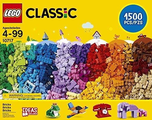 LEGO Classic Extragroße Steinebox (10717) klassisches Bauspielzeug für Kinder