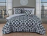 Avondale Manor Villa 5-piece Comforter set Queen, nero