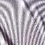 Stoff Meterware Bauernstreifen Flieder lila weiß Streifen