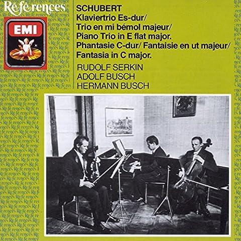 Schubert: Piano Trio D929, Fantasia D934.