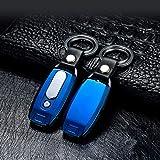 lingan Feuerzeuge USB Feuerzeug Tragbare wiederaufladbare flammenlose winddicht Elektronische Zigarette Feuerzeug mit Schlüsselanhänger Taschenlampe, blau Test