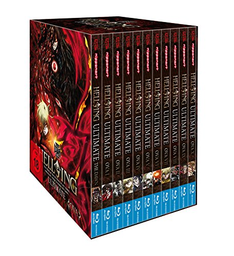 Hellsing Ultimate OVA - MEGA BUNDLE Blu Ray (OVA I - X +