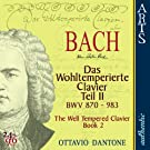 Bach: The Well-Tempered Clavier, Book 2 - BWV 870-893