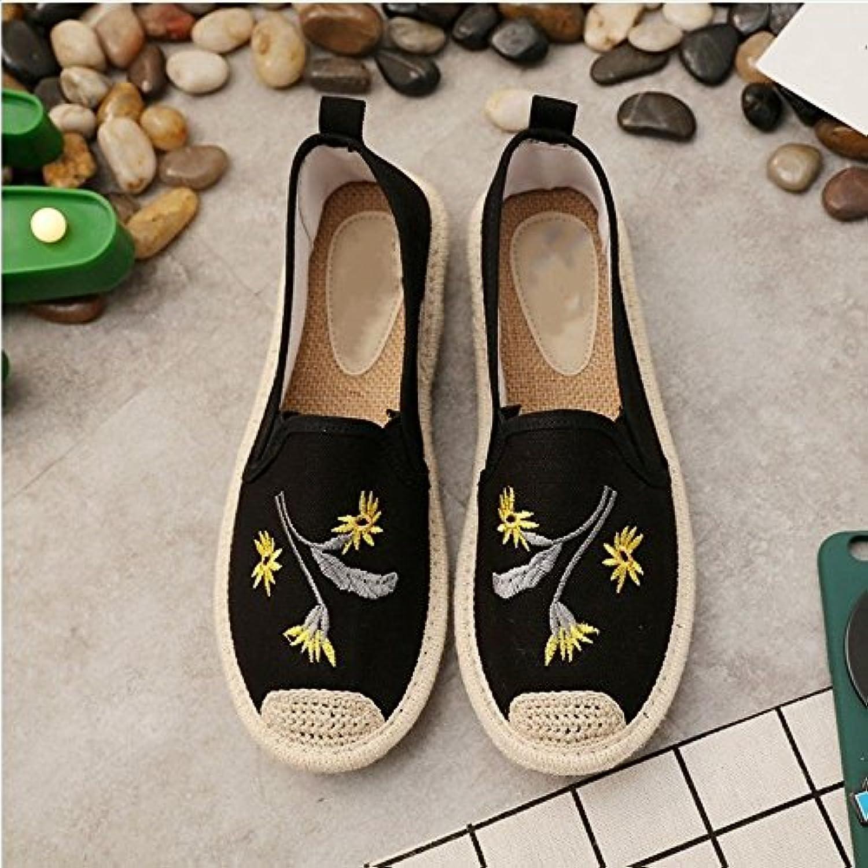 a2ce278d2 chaussures chaussures linge de xingmu chaussures de paille tissée ...