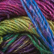 Noro Silk Garden Lite, 2073 - Rose-Browns-Lilac-Teal-Green by Noro