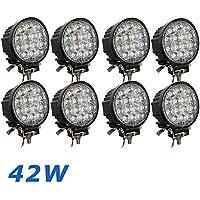 42 W 4.5 Inch Faro Offroad lavoro a LED bianco