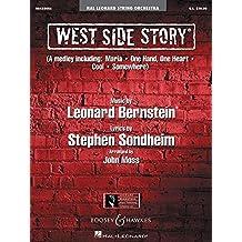 West Side Story: Streichorchester. Partitur und Stimmen.