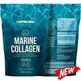 Premium MARINE Collagen Peptides - Large Pack (425g) Wild Caught Fish from North Atlantic (Not Farmed), Protein Powder for Skin, Hair, Nails, Joints & Bones & Digestive Health - Hydrolyzed (Unflavoured)