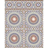 Marokkanische Fliese maurische Keramikfliese orientalische Wandfliese