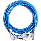 SHAFIRE Car Towing Rope Emergency Tow Pull Rope Snatch Strap for Car (Blue)