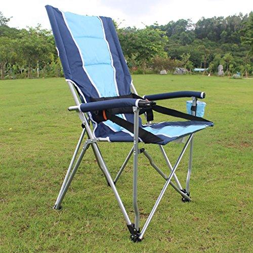 camping klappstuhl Klappstuhl im Freien, Fischen-Freizeit-Stuhl, Breathable fester beweglicher Strand-Stuhl, ( Farbe : 2 )