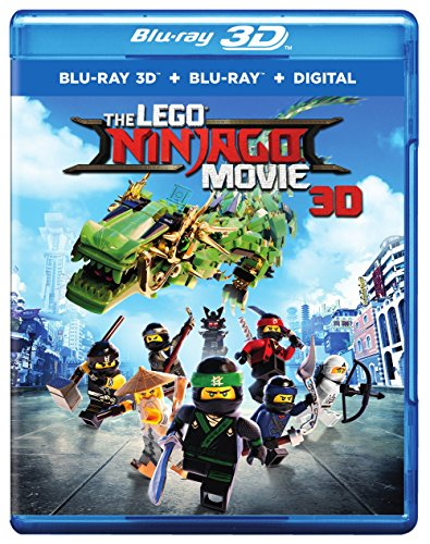 The Lego Ninjago Movie 3D [Blu-ray]