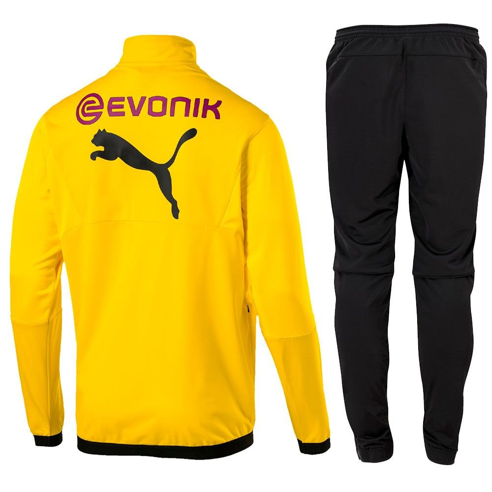 BVB calcio Borussia Dortmund ufficiale da donna Fan T-Shirt Puma Calcio Giallo