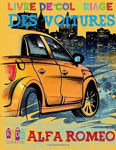 Voiture Alfa Romeo ~ livre de coloriage ...