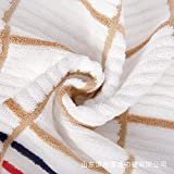 XXIN Farbige Handtuch Wort Chinesische Knoten Bambus Sports Towel Sports Towel Farbe Handtuch Braun 33 * 72 cm