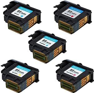 C9420A C9421A C9422A C9423A C9424A ASHATA Druckkopf f/ür HP Designjet 30//90R//130 Series Hochwertiger Ersatz-Tintendruckkopf f/ür HP85-Druckkopf Hellrot