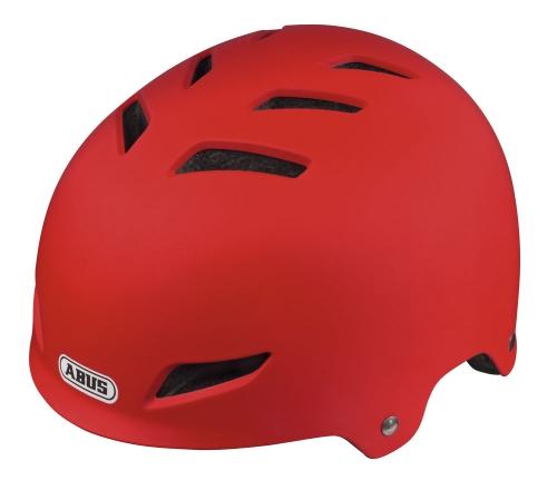 Preisvergleich Produktbild ABUS Kinder Fahrradhelm Scraper Kid, red matt, 51-55 cm, 52062-4