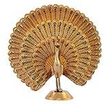 Kapasi Handicrafts Brass Minakari Peacoc...