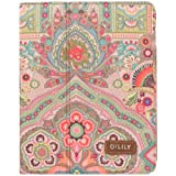 Oilily & iPad 2 3 Case Winter Ovation in Indigo, Biscuit or Coffee