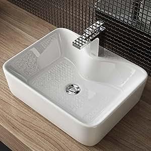 design keramik aufsatz waschbecken waschtisch handwaschbecken bad g ste wc top a98. Black Bedroom Furniture Sets. Home Design Ideas