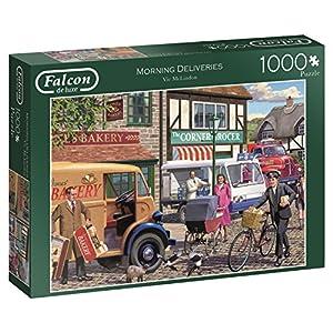 Jumbo- Morning Deliveries Puzzle de 1000 Piezas (11217.0)