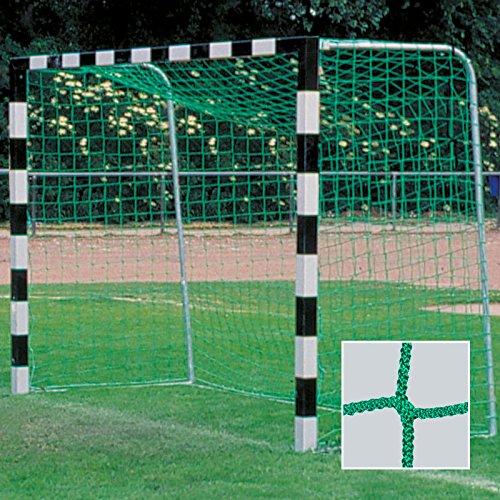 Donet Handballtornetz/Kleinfeld 3,1 x 2,1 m Tiefe oben 0,80/unten 1,00 m, PP 4 mm ø, grün