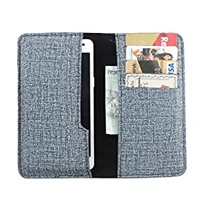 DooDa PU Leather Pouch Case Cover With Card / ID Slots For Samsung Galaxy S4