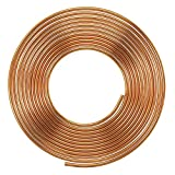 #1: Soft Copper Pipe Copper Pancake Coil, Outer Diameter - 1/4 inch (6.35mm) & Wall Thickness - 25 swg, Pack of 1 pcs