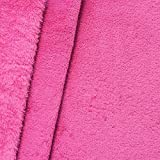 STOFFKONTOR  Wellness Fleece Stoff Meterware Pink