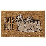 Simons Cat Fußmatte Cats Rule