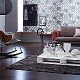 Schöner Wohnen, Basanti, Teppich, 140 x 200 cm, Schiefer