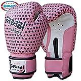 Farabi - Guantes de boxeo para niños (113,4 g), color rosa
