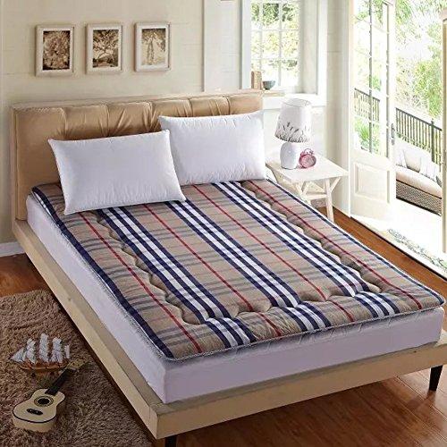 Nclon Baumwolle Matratze Zusammenklappbar Tatami-matten,Matratze Mat ist Für Person Doppelzimmer-Kasten 150x200cm(59x79inch) (Baumwoll-polyester-futon-matratze)