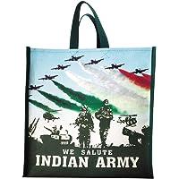DOUBLE R BAGS Waterproof Vegetable/Grocery/Multipurpose Shopping Bag. (Pack of 6)