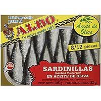 Albo -Sardinillas en Aceite de Oliva - 8/12 Piezas - 105 g