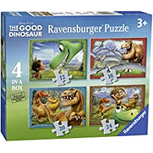 The Good Dinosaur - Set de 4 rompecabezas (Ravensburger 71432)