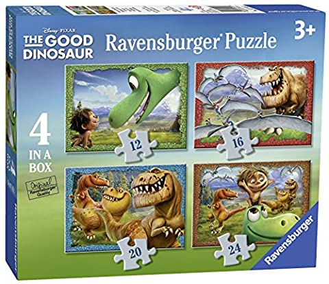 Ravensburger Disney The Good Dinosaurier 4in Box (12, 16, 20, 24-) Puzzle