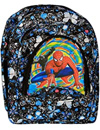 Free Pencil Box With Spiderman Waterproof School Bag For Girls And Boys Class 5-8 Free Pencil Box As A Gift With...