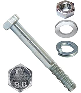 M5x60 DIN 931 A 2-70 Sechskantschrauben mit Schaft Abmessung 100 St/ück