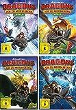 Dragons - Auf zu neuen Ufern (Staffel 3.1 - 3.4 / Volume 1-4) im Set - Deutsche Originalware [4 DVDs]