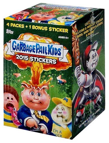Garbage Pail Kids 2015 Series 1 2015 Garbage Pail Kids Series 1 Trading Card Box by Topps by Topps