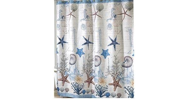 Antigua Nautical Shower Curtain