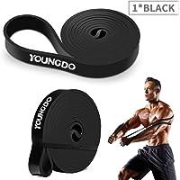 YOUNGDO Bande Elastique Sport, Elastique de Sport Musculation, Bande de Résistance Exercer Musculation, Faire du Fitness…