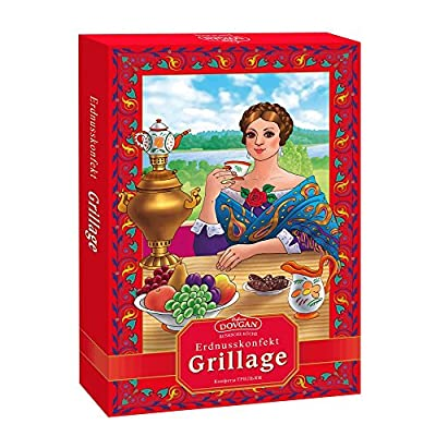 """Dovgan Erdnusskonfekt """"Grillage"""", 7er Pack (7 x 205 g)"""