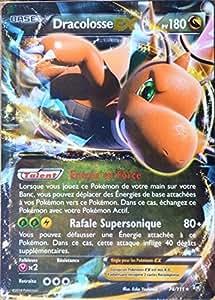 carte Pokémon 74/111 Dracolosse-EX 180 PV ULTRA RARE XY Poings Furieux NEUF FR